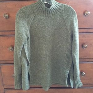 American Eagle Turtleneck Sweater with Split Hem